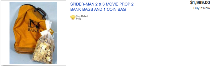 SpiderManMoneyBag