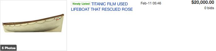 TitanicLifeboat