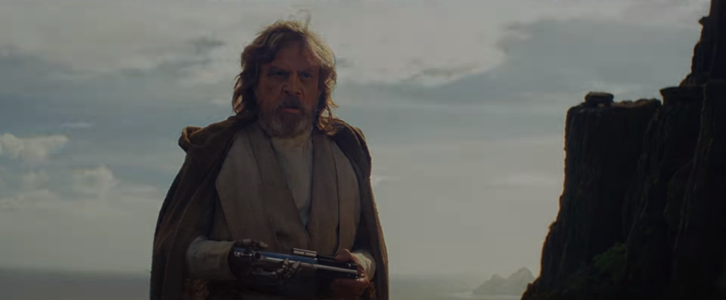 "Mark Hamill gives a career-best performance in ""The Last Jedi."" Disney/Lucasfilm"